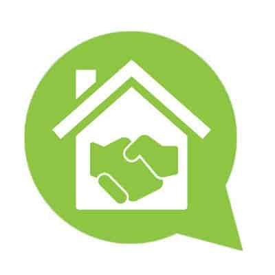 Immobilien Abnahme Icon